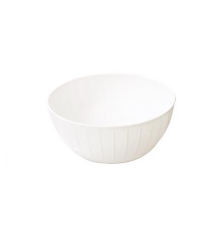 Mísa plastová DELÍCIA pr. 28 cm, 5.0 l, bílá