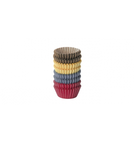 Cukrářský košíček barevný DELÍCIA pr. 4.0 cm, 200 ks