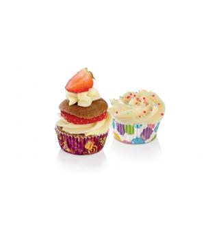 Cukrářské mini košíčky DELÍCIA pr. 4 cm, 100 ks, na párty