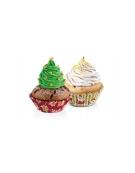 Cukrářské košíčky DELÍCIA pr. 6 cm, 60 ks, vánoční