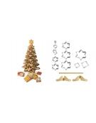 Vánoční stromeček velký DELÍCIA, souprava vykrajovátek