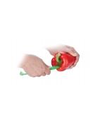 Vykrajovací nůž na papriku PRESTO, oranžová
