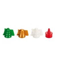 Formičky na plněné cukroví DELÍCIA, 3 vánoční tvary