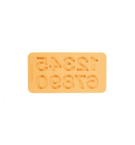 Silikon.formičky DELÍCIA DECO, čísla-Žlutá