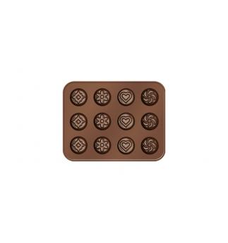 Formičky na čokoládu DELÍCIA CHOCO, čokomix