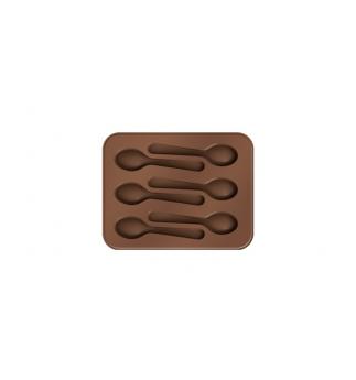 Formičky TESCOMA na čokoládu DELÍCIA CHOCO, lžičky