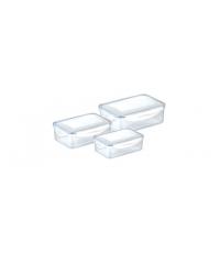 Dóza FRESHBOX 3ks, 0.2, 0.5, 1.0 l, obdélníková