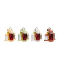 Soupr.olej-ocet-sůl-pepř LOUIS, stoj., červená