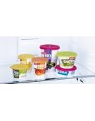 Víčka na jogurty PRESTO pr. 10 cm, 2 ks