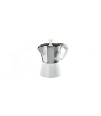 Kávovar PALOMA Colore, 3 šálky, bílá